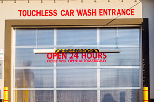 Car Wash Bay Door